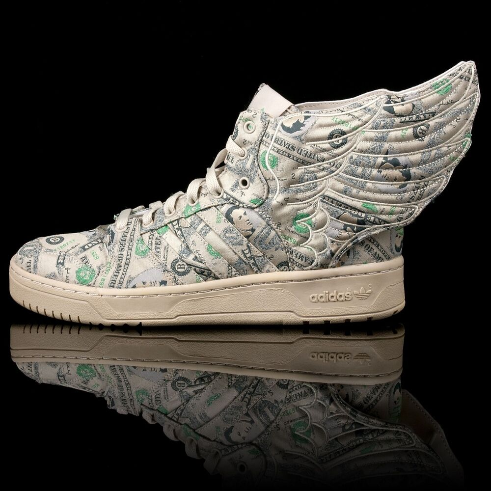 74fab60eed89 Details about Adidas Jeremy Scott JS Wings 2.0 Money