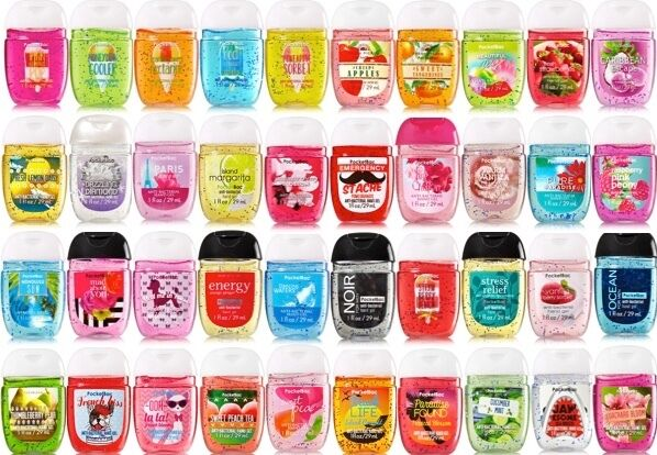 NEW BATH & BODY WORKS POCKETBAC ANTI BACTERIAL HAND GEL ...