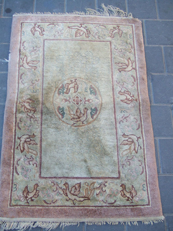 Beautiful Hand Woven Antiques Chinese Rug Carpets Silk Ebay