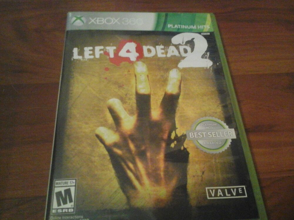 Left 4 Dead manual xbox 360