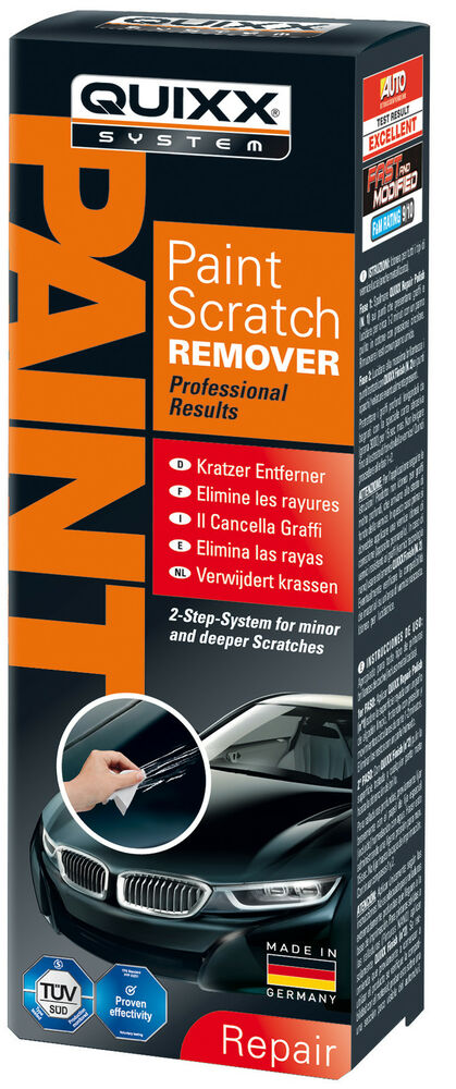 quixx scratch remover paint repair kit car bike auto ebay