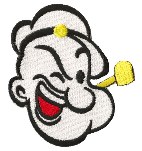Patche écusson Popeye le Marin patch couture hotfix thermocollant transfert