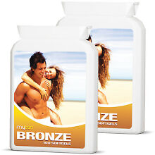 2x MyTan Bronze Sunless Tanning Pills Safe Healthy Sun Tan Worldwide Bestseller