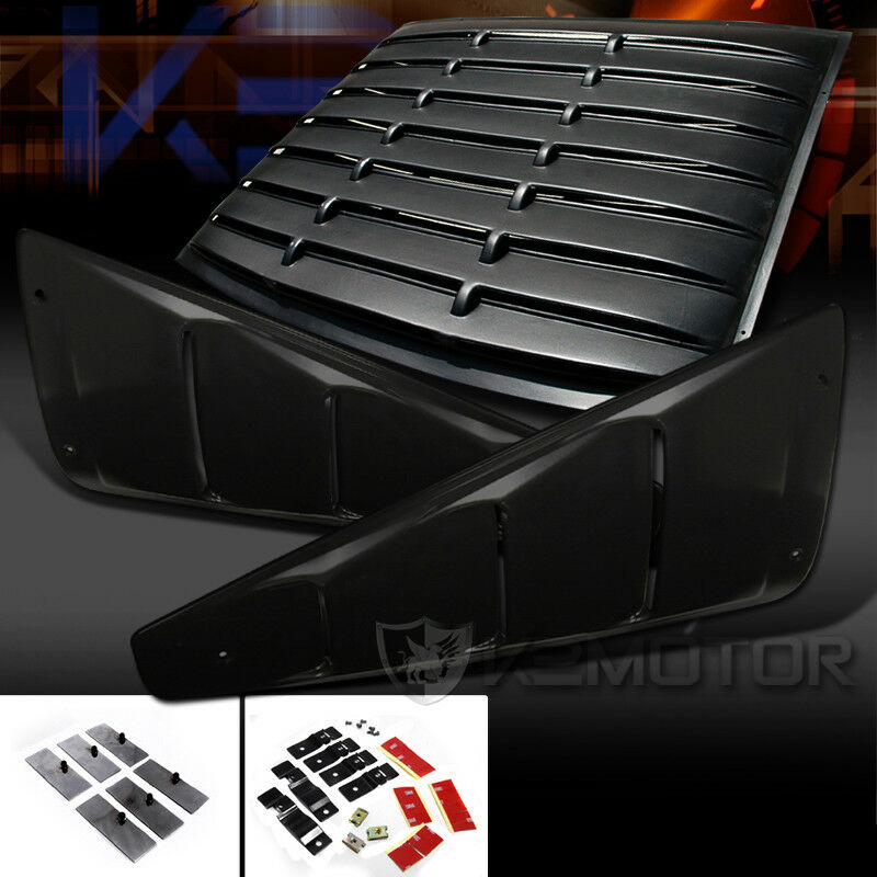 05 14 ford mustang 2dr coupe 1 4 side vent rear window for 05 mustang rear window louvers