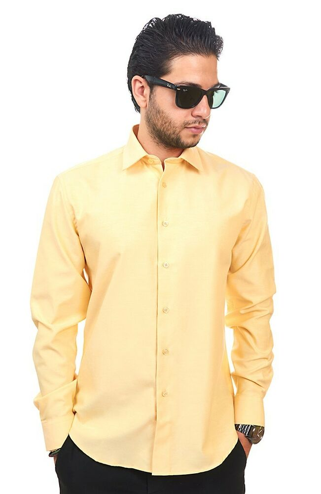 Yellow Dress Shirts for Men at Macy's come in a variety of styles and sizes. Shop top brands for Men's Dress Shirts and find the perfect fit today. Macy's Presents: Lauren Ralph Lauren Men's Slim-Fit Non-Iron Dress Shirt.