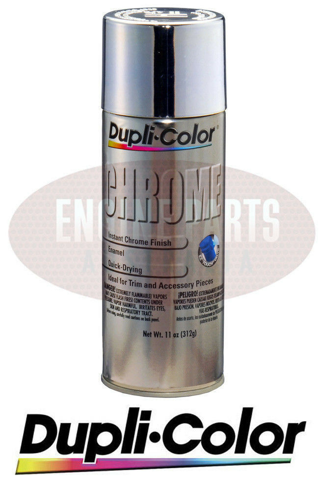 Duplicolor Custom Instant Chrome Auto Paint Aerosol Spray Can 312gm Cs101 Ebay