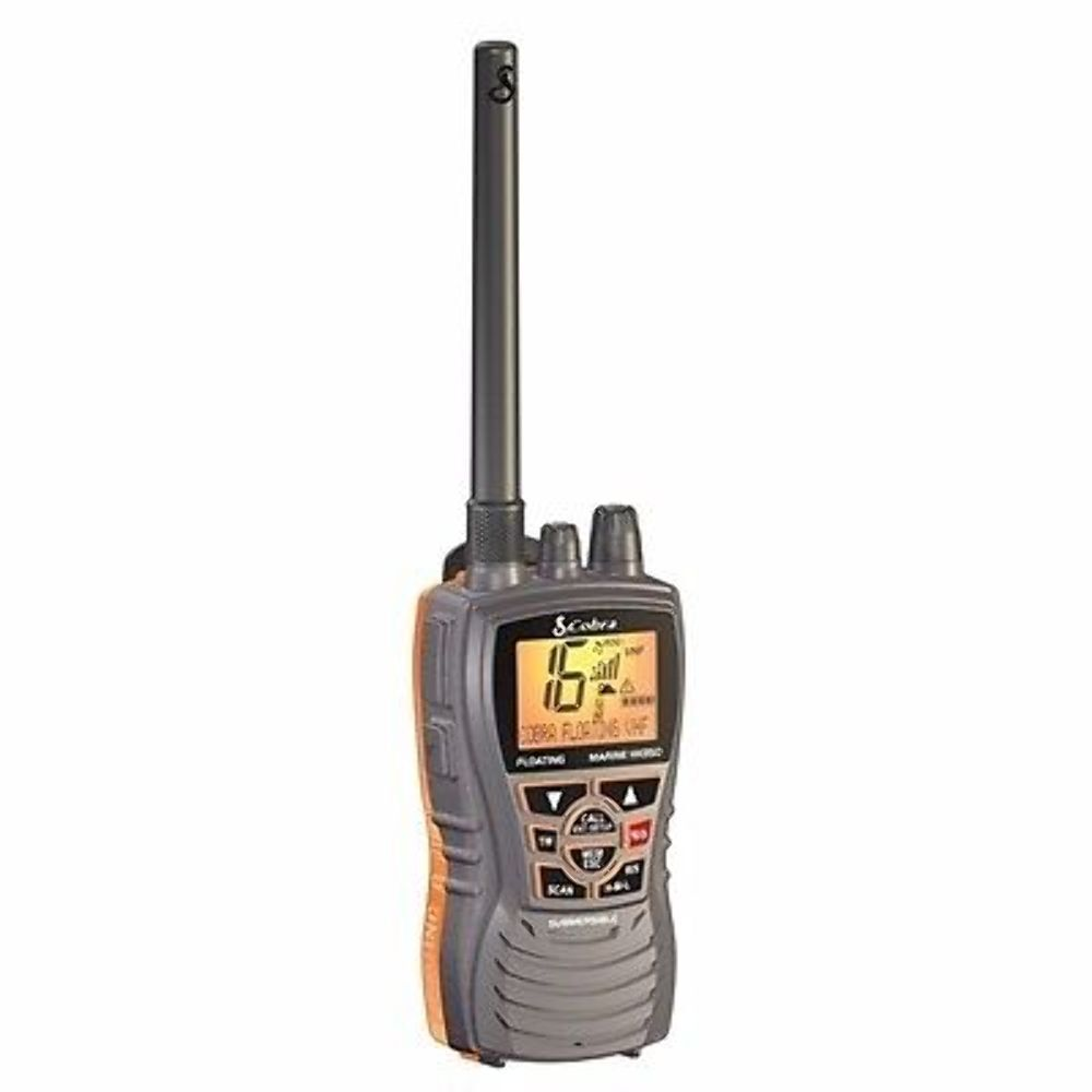 Cobra Floating Handheld VHF Marine Radio BLACK Marine MRHH350 FLT MD 682526318427 | eBay