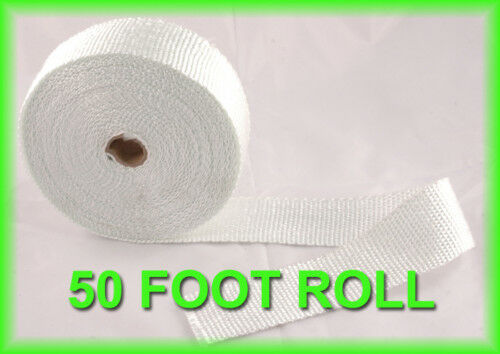 Exhaust Pipe Heat Header Wrap Insulation Thermal Tape Roll
