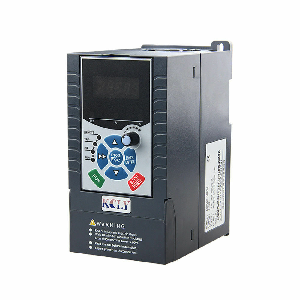 1 5kw 2hp vfd 7a 220v single phase variable speed drive for Single phase motor vfd