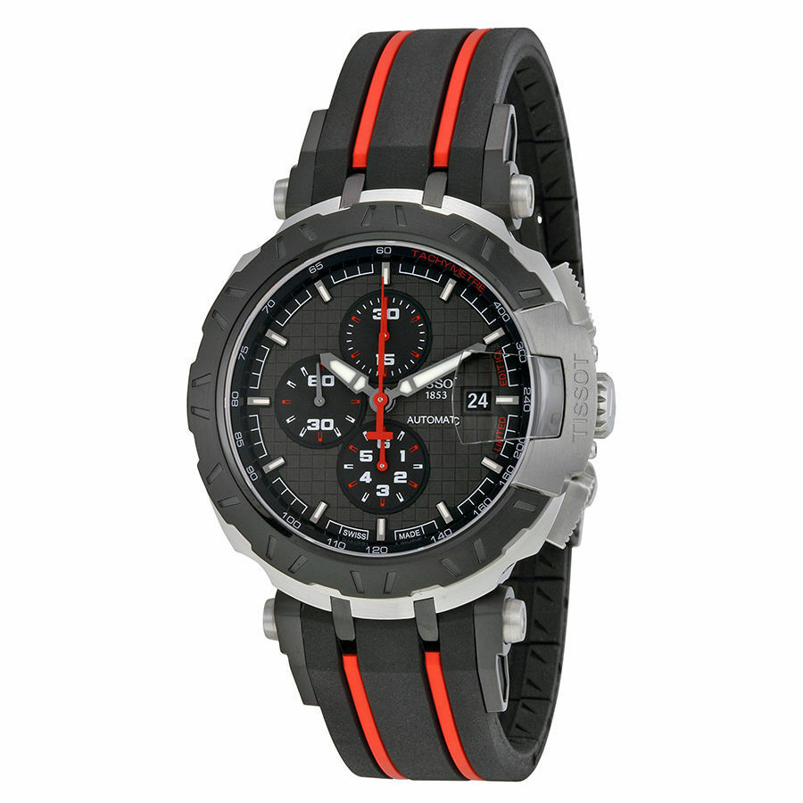 new tissot motogp limited edition automatic men 39 s watch. Black Bedroom Furniture Sets. Home Design Ideas