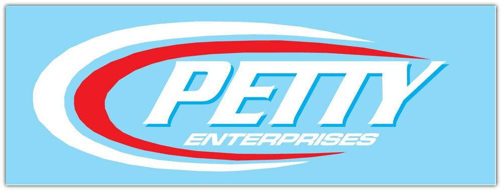 Petty Enterprises Nascar Racing Car Bumper Window Notebook