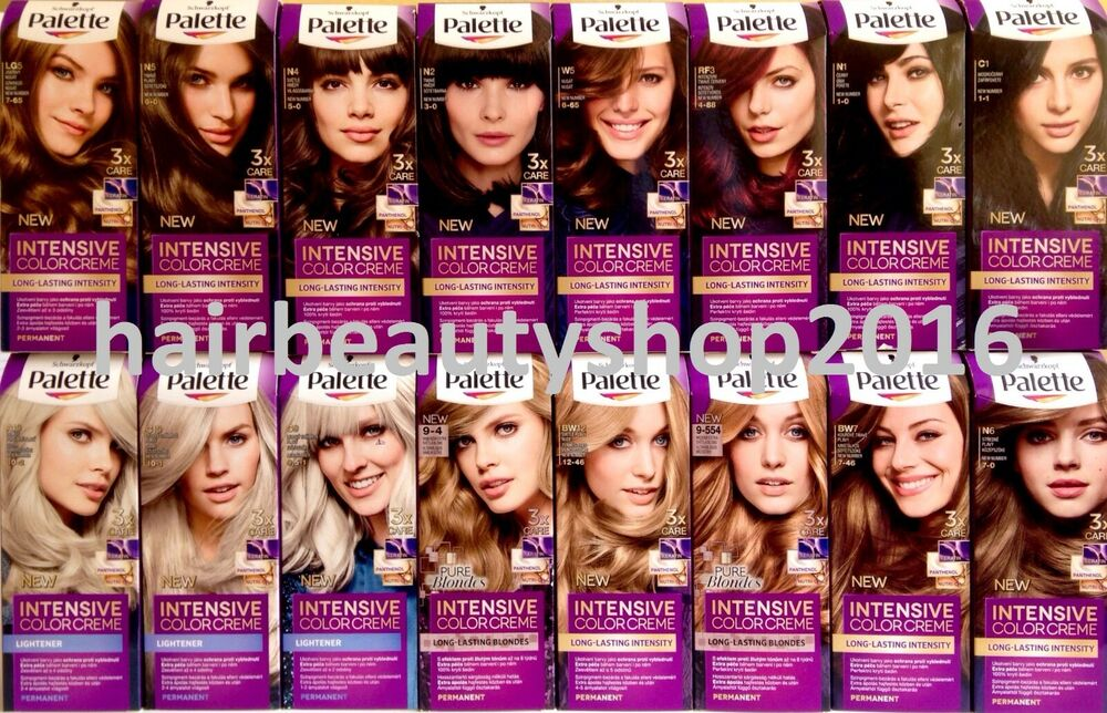 Hair Color Chart With Names Images Amp Pictures Becuo Of Palette