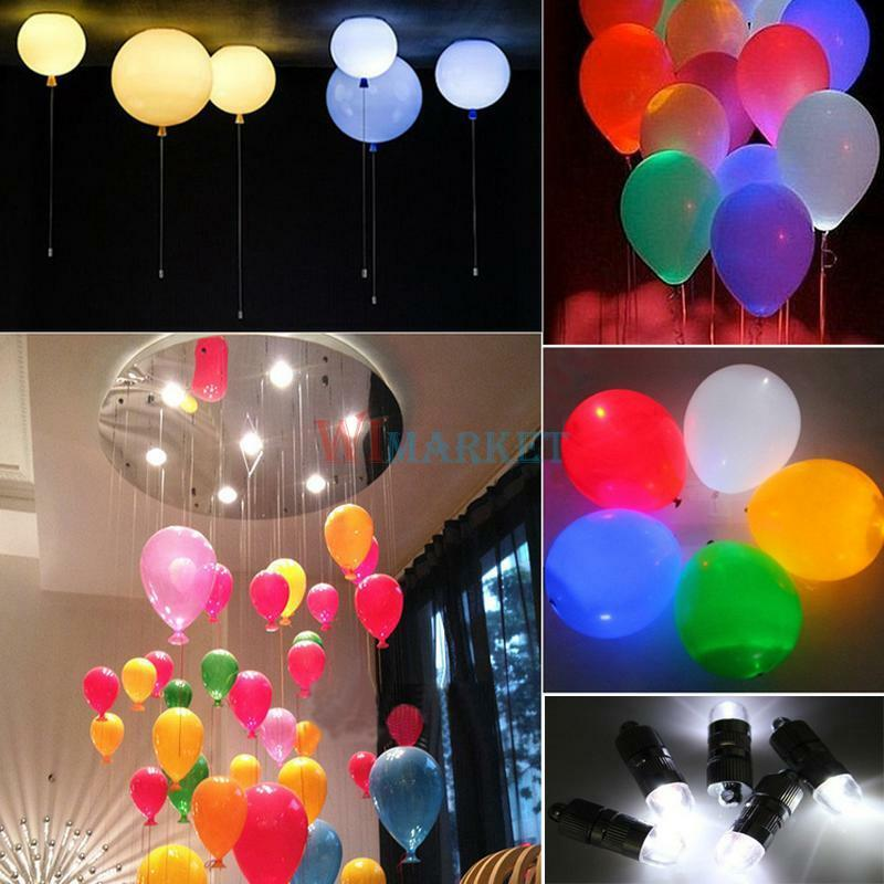 led lights for wedding decorations waterproof led light paper lantern balloon floral for 5446