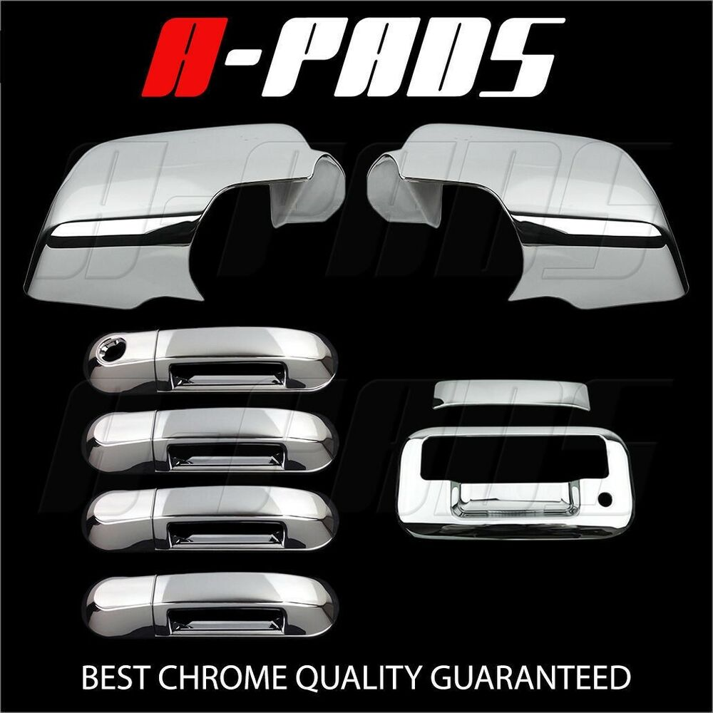 For Ford Explorer Sport Trac 07 09 Chrome Mirror Door Handle Tailgate Cover Ebay