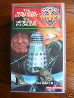 Doctor Who Genesis of the Daleks / Sontaran Experiment