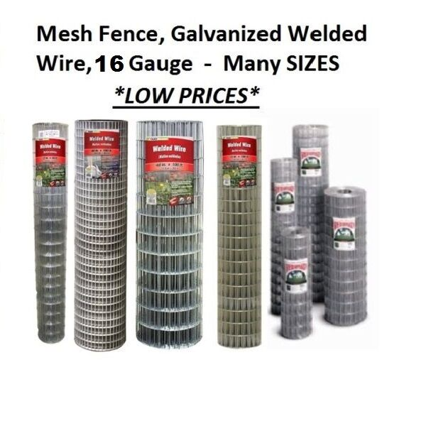 Galvanized Welded Wire Mesh Cage Fence 16 Gauge Many
