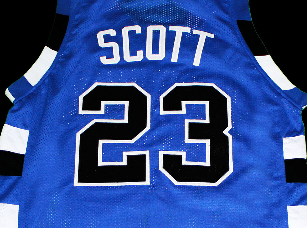 NATHAN SCOTT ONE TREE HILL RAVENS #23 JERSEY BLUE NEW ANY ...