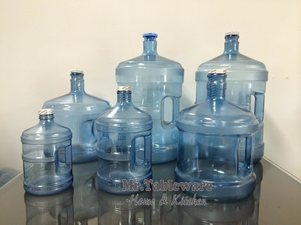 Drinking Water Faucet >> Made in USA - Polycarbonate Plastic Water Bottle | eBay