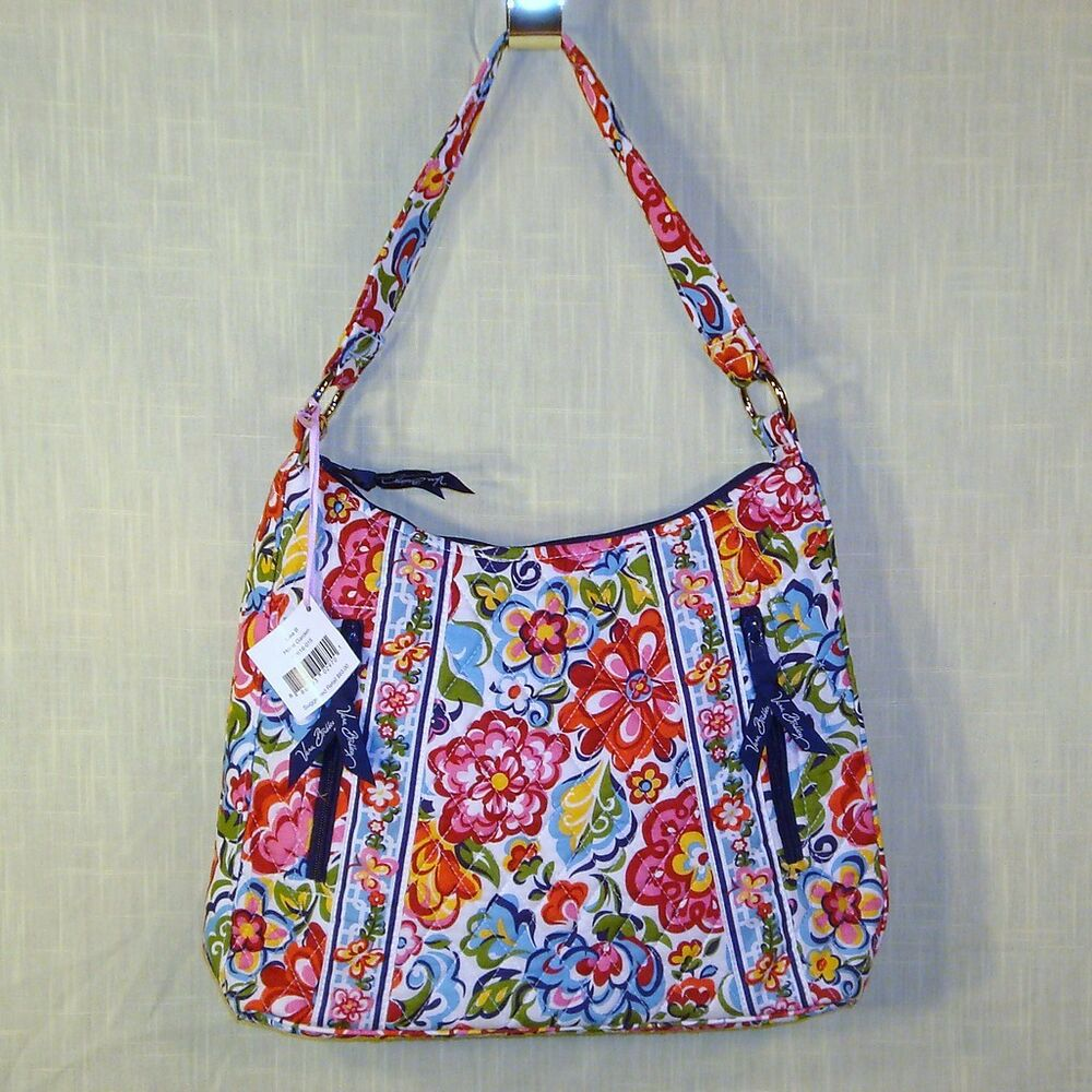 vera bradley lisa b hope garden shoulder purse ebay