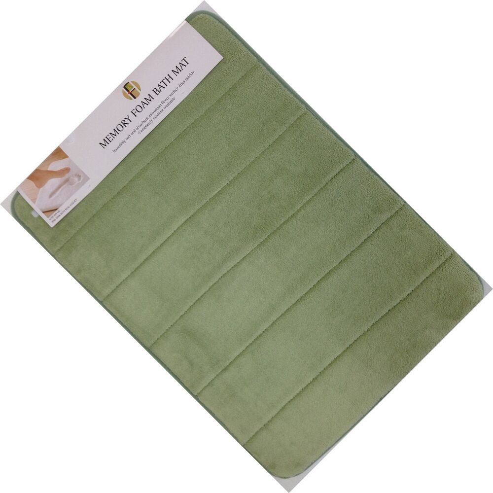 Very Soft And Absorbent Memory Foam Bath Mat 17 Quot X 24