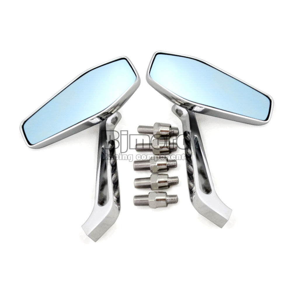 Motorcycle 7 8 Quot Rear View Chrome Mirrors For Harley