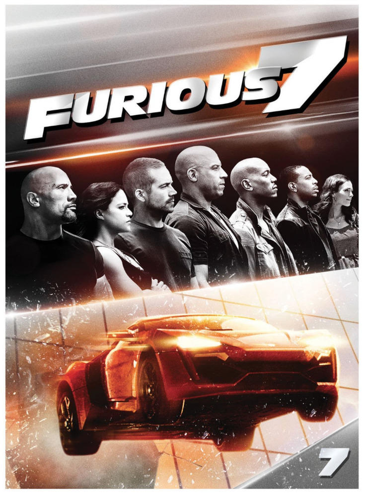 furious 7 dvd new paul walker vin diesel the fast and 191329007761 ebay. Black Bedroom Furniture Sets. Home Design Ideas