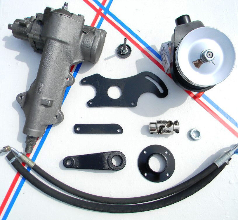 ford f100 power steering conversion