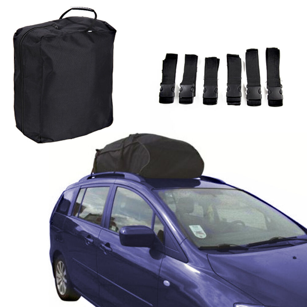 Car Roof Luggage Bag WATERPROOF 458 Litre Folding Roof Box ...