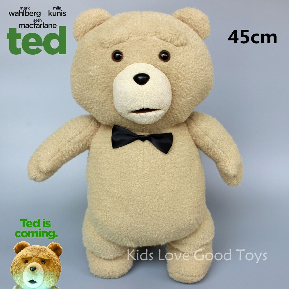 Toys For Ted : New movie ted the bear with bow tie plush doll soft toys
