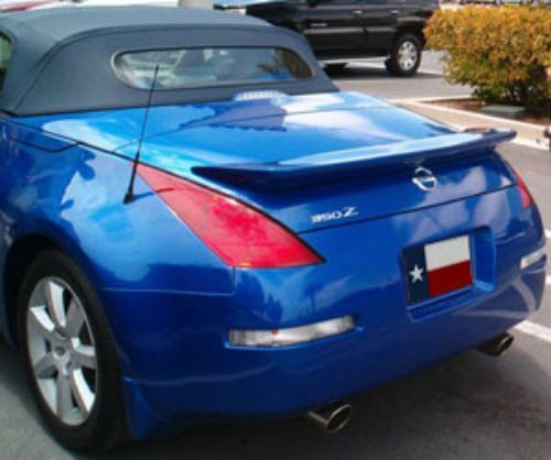 Fits: Nissan 350Z Roadster 2003-2009 Custom Rear Spoiler Primer Finish