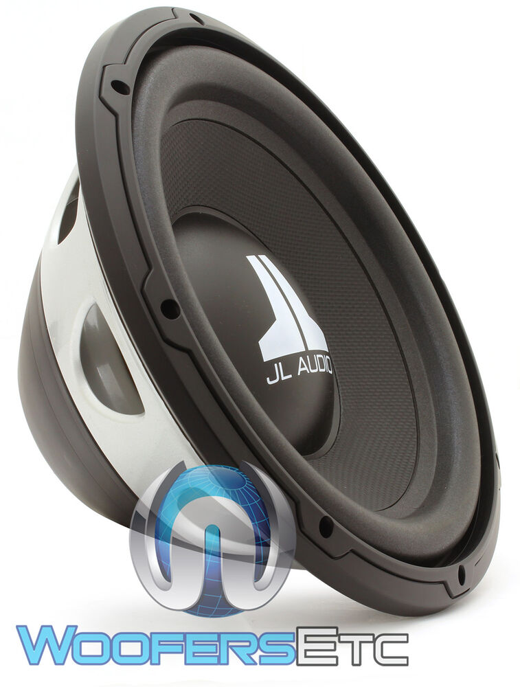 jl audio 10wxv2 4 sub 10 400w max single 4 ohm car. Black Bedroom Furniture Sets. Home Design Ideas
