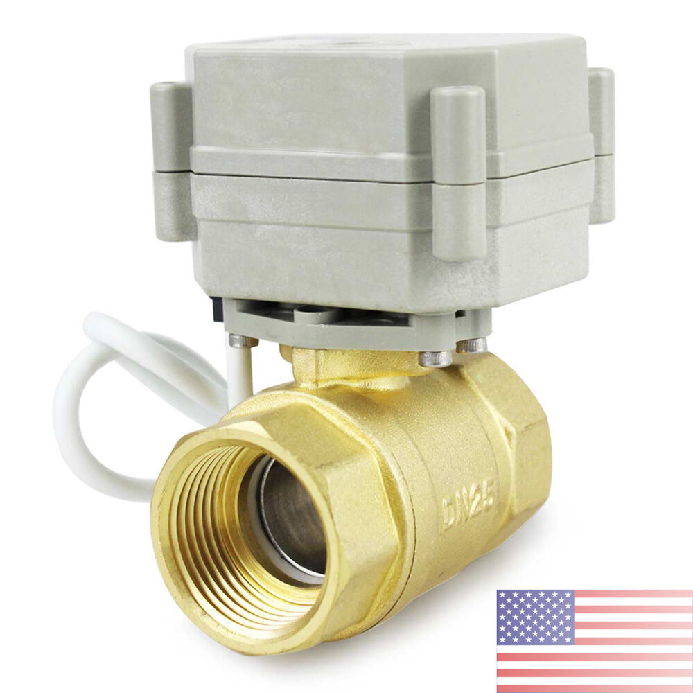 New 1 2 to 1 1 4 n c motorized ball valve electrical for 1 motorized ball valve