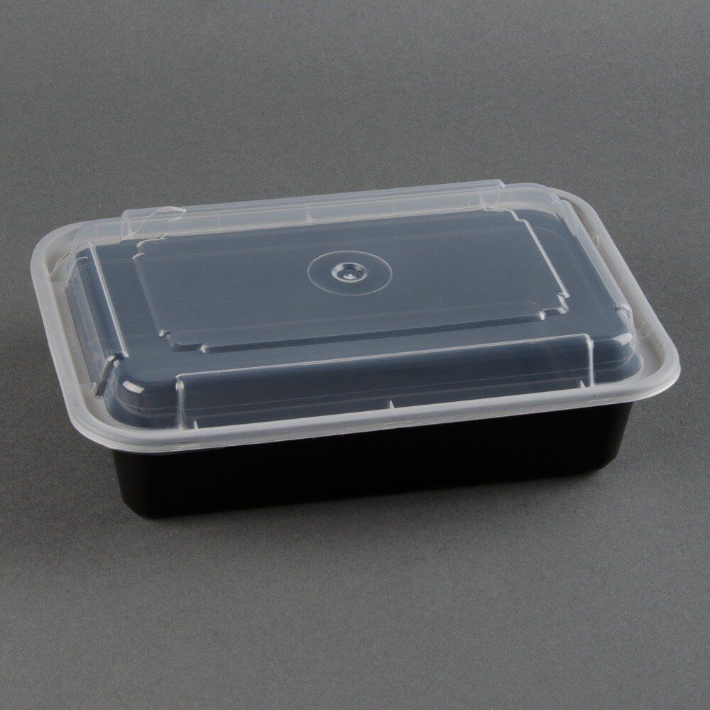 12 Meal Prep Containers Plastic Food Storage Reusable