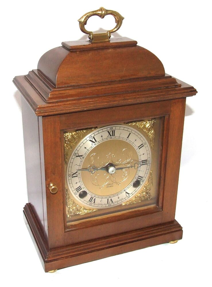 Walnut GARRARD 112 Regent Street London Bracket Mantel Clock by ELLIOTT LONDON : eBay