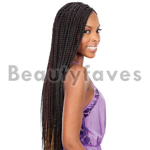 LARGE BOX BRAIDS - FREETRESS BULK CROCHET & LATCH HOOK BRAIDSING HAIR ...