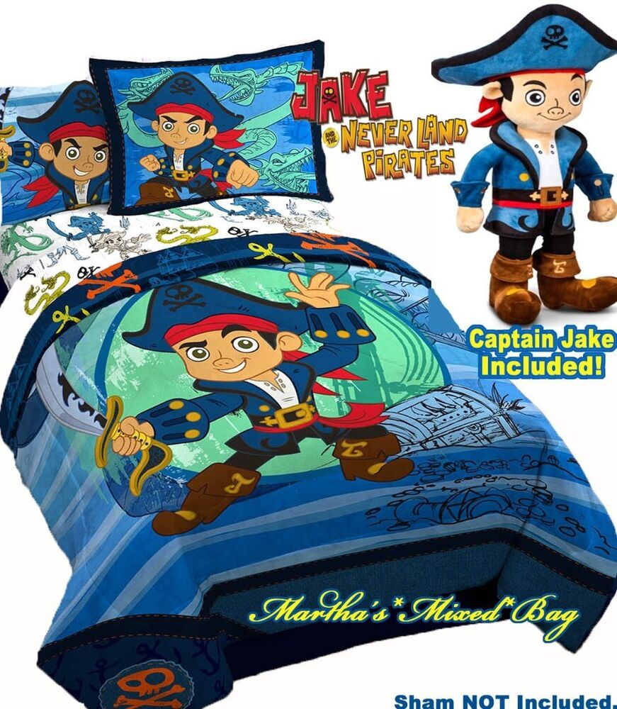 Captain Jake And The Neverland Pirates Boys Blue 5p Twin