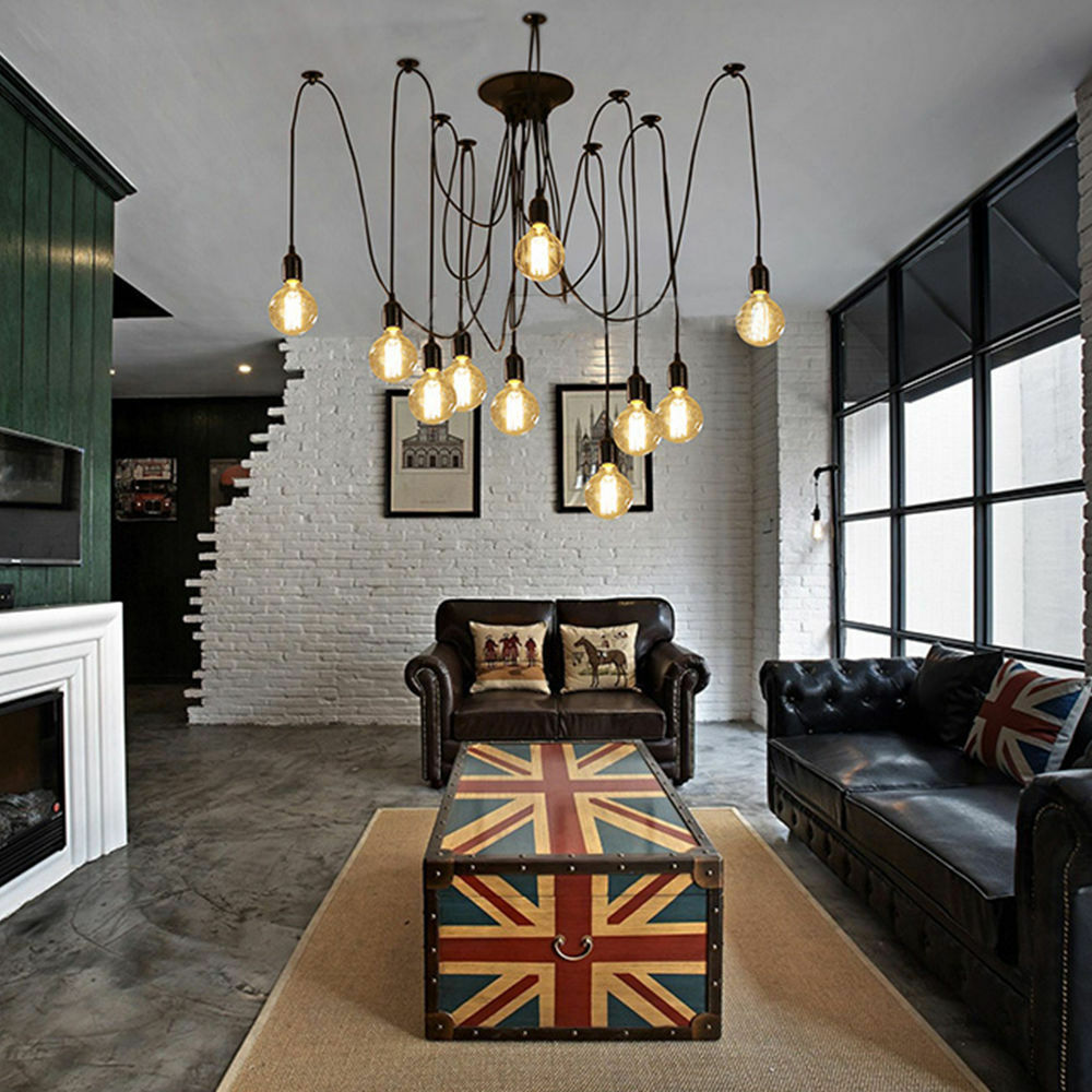 Ceiling Lights Edison : Vintage edison style industrial retro ceiling