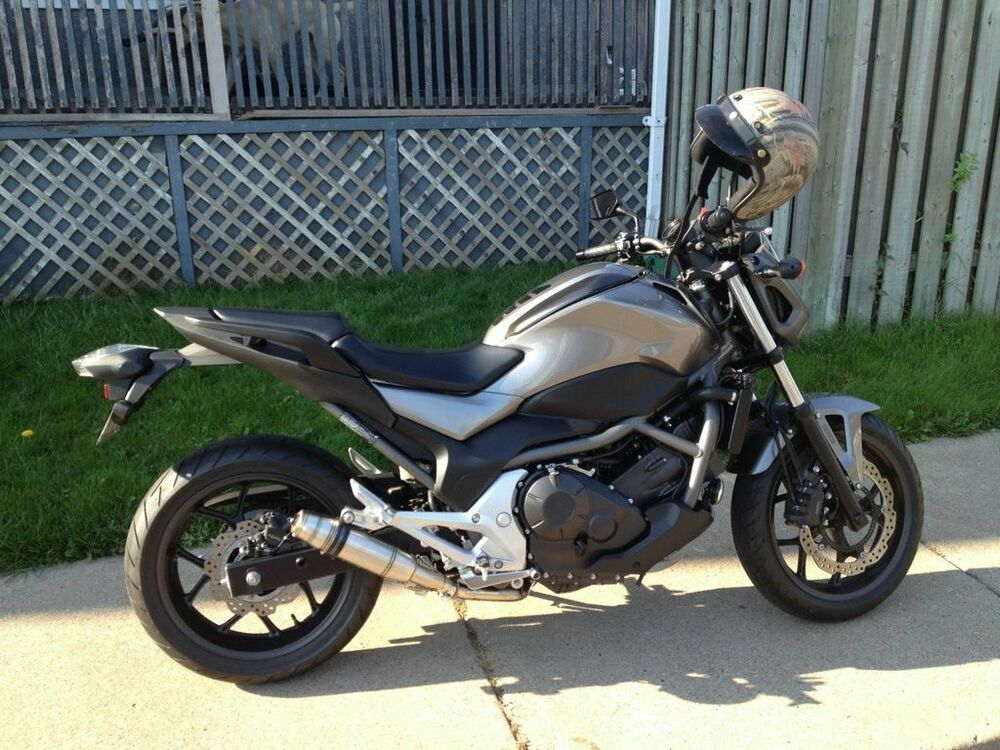 honda nc 700 x s dct gpr exhaust systems deeptone slipon. Black Bedroom Furniture Sets. Home Design Ideas