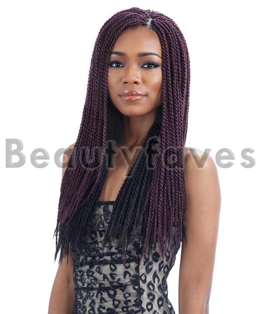 SINGLE TWIST SMALL - FREETRESS BRAID BULK CROCHET SENEGAL BRAIDING ...