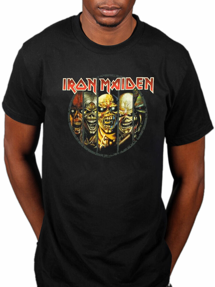 c9fb2f4adb7 Details about Official Iron Maiden Eddie Evolution T-Shirt Peace Of Mind  Final Frontier Seven