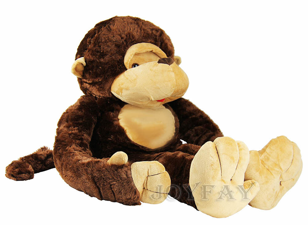 joyfay 51 giant huge monkey gorilla stuffed plush toy 130cm birthday gift ebay. Black Bedroom Furniture Sets. Home Design Ideas