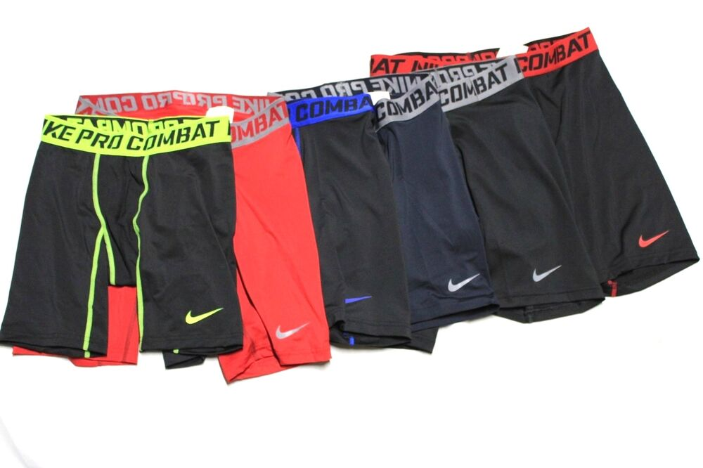 separation shoes b9a2b 0c0f3 Mens Nike Pro Combat Dri Fit Compression Shorts Boxer Briefs 519977 S M L  XL 2XL   eBay