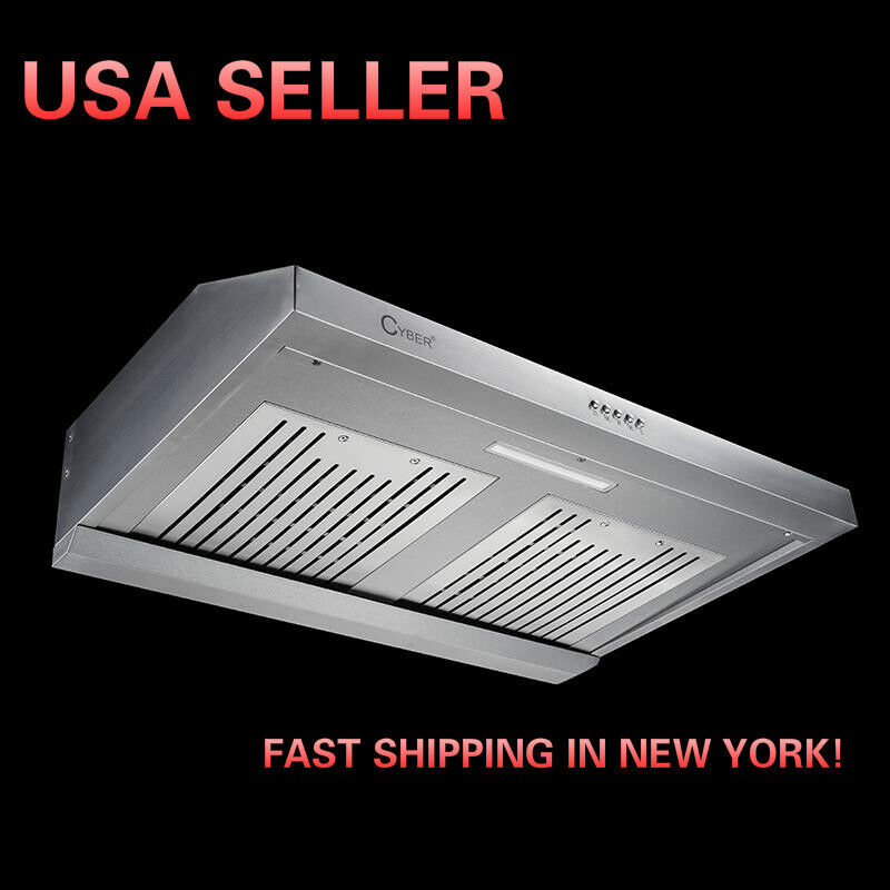 100 ductless under cabinet range hood kitchen wooden stove