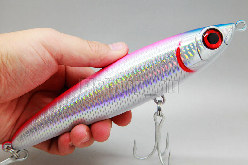 18cm 96g fishing lure deep diving saltwater lure pencil for Deep sea fishing lures
