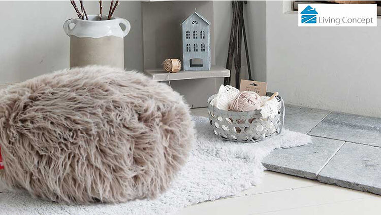 Living Concept Luxury Lush Amp Soft Alpaca Faux Fur Brown