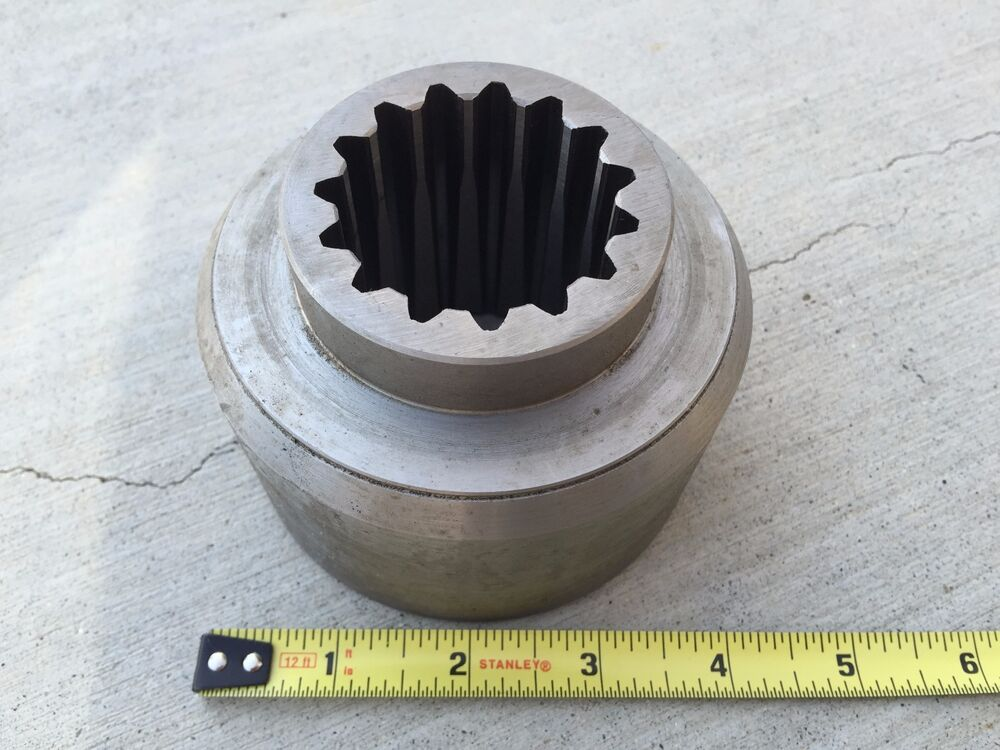 Rotary Cutter Blade Hub 15 Tapered Spline For 70 120 Hp