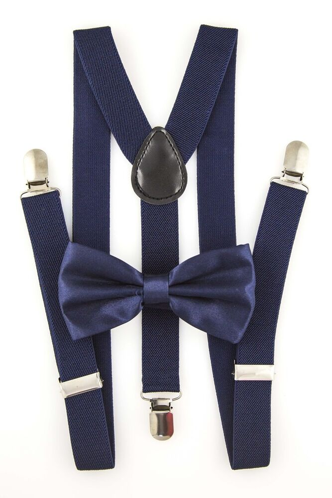 A sharp-looking pair of suspenders already sets the stage for an elegant outfit, but when you add a matching bow tie, you really elevate the look. Take your style to the red-carpet level by wearing one of these women's and men's bow tie and suspender sets .