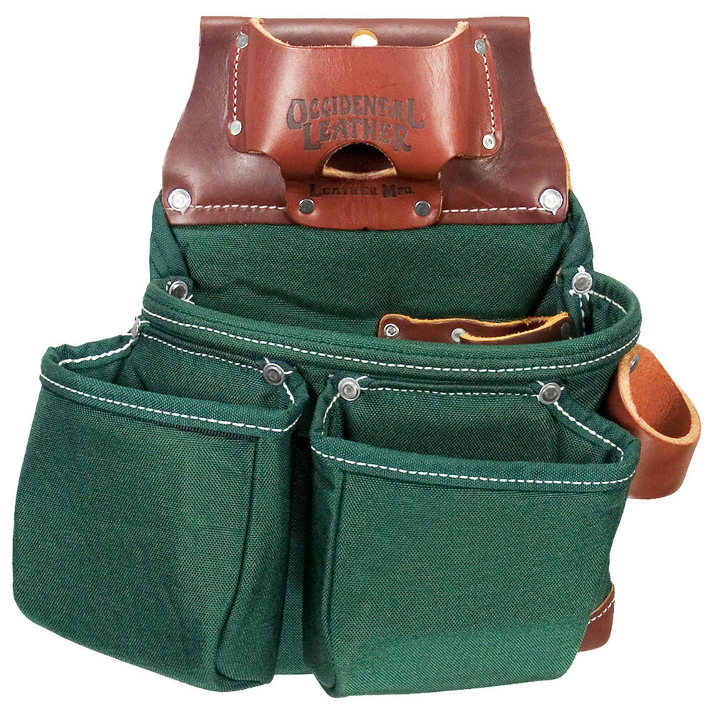 occidental leather 8018db oxylights 3 pouch tool bag ebay