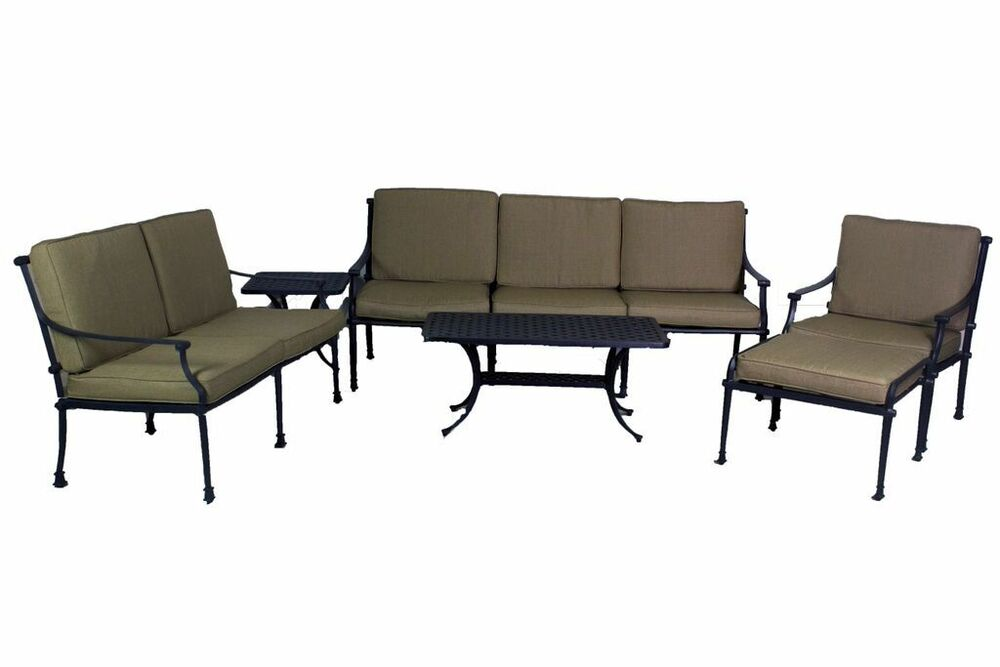Florence Collection Deep Seating Loveseat Sofa Club