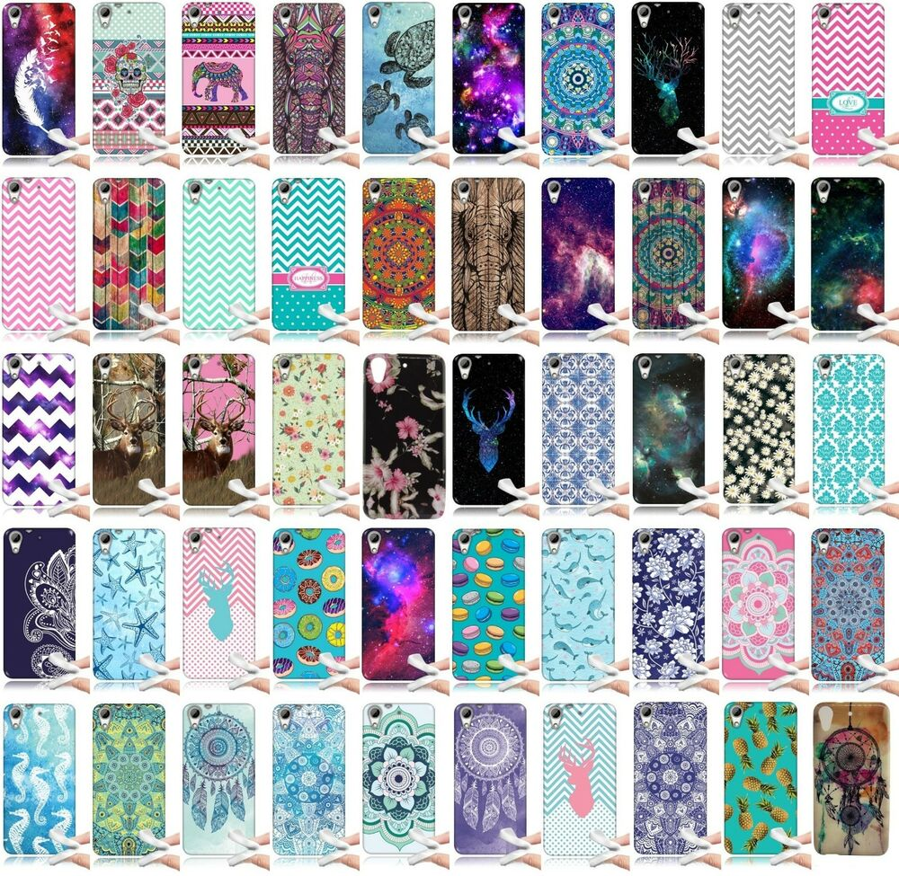 HTC Desire 626 626S TPU Silicone Rubber Gel Skin Cover Protector Phone ...